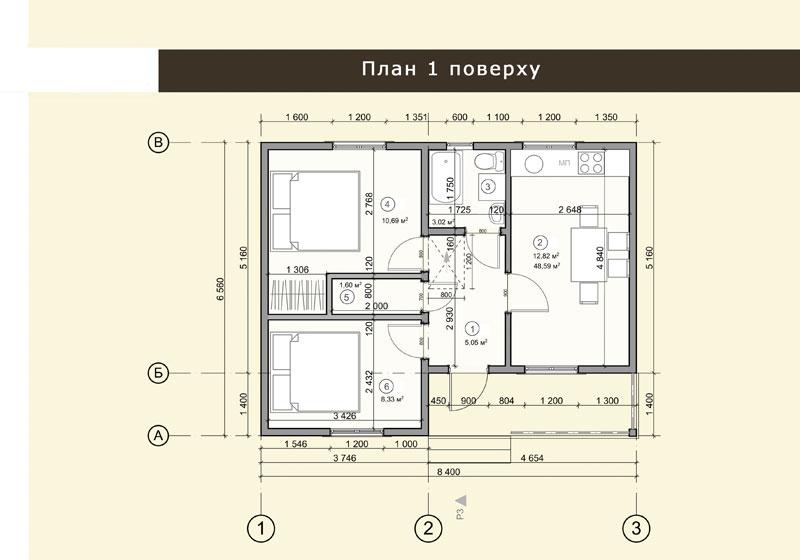 проект панельного дома 49+